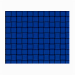 Cobalt Weave Glasses Cloth (Small, Two Sided)
