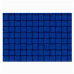 Cobalt Weave Glasses Cloth (Large, Two Sided)