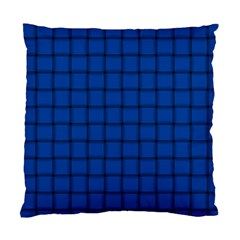 Cobalt Weave Cushion Case (One Side)