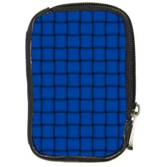 Cobalt Weave Compact Camera Leather Case