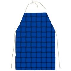 Cobalt Weave Apron