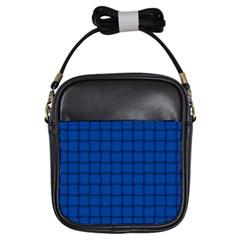 Cobalt Weave Girl s Sling Bag
