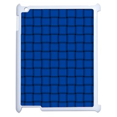 Cobalt Weave Apple iPad 2 Case (White)