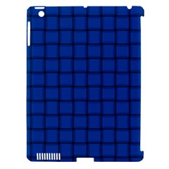 Cobalt Weave Apple Ipad 3/4 Hardshell Case (compatible With Smart Cover)
