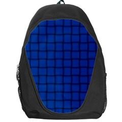 Cobalt Weave Backpack Bag