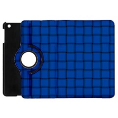 Cobalt Weave Apple Ipad Mini Flip 360 Case