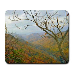 Way Above The Mountains Large Mouse Pad (rectangle)