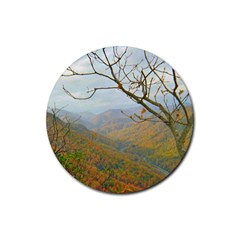 Way Above The Mountains Drink Coasters 4 Pack (Round)