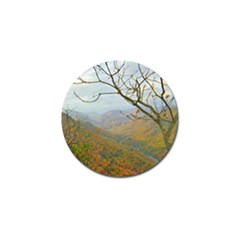Way Above The Mountains Golf Ball Marker 4 Pack