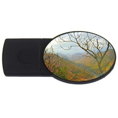 Way Above The Mountains 1GB USB Flash Drive (Oval)