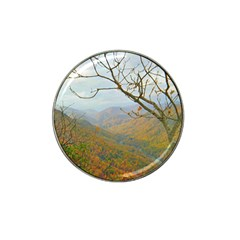 Way Above The Mountains Golf Ball Marker 4 Pack (for Hat Clip)