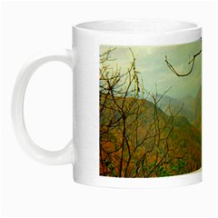 Way Above The Mountains Glow In The Dark Mug