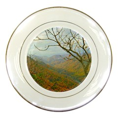 Way Above The Mountains Porcelain Display Plate