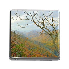 Way Above The Mountains Memory Card Reader With Storage (square)