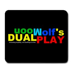 DualPlay Large Mouse Pad (Rectangle)