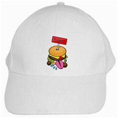 BurgerYUMM White Baseball Cap