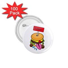 BurgerYUMM 1.75  Button (100 pack)