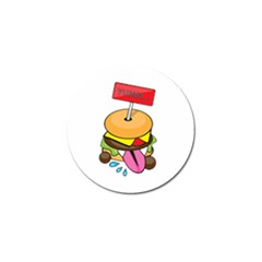 Burgeryumm Golf Ball Marker 10 Pack