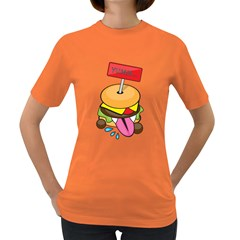 BurgerYUMM Womens' T-shirt (Colored)