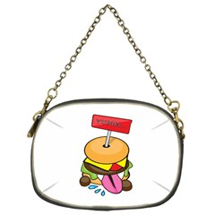 BurgerYUMM Chain Purse (One Side)