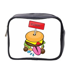 BurgerYUMM Mini Travel Toiletry Bag (Two Sides)