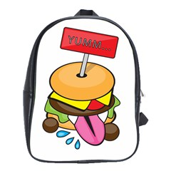 Burgeryumm School Bag (xl)