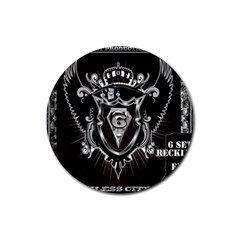 6 Set New Logo Drink Coasters 4 Pack (Round)