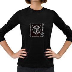6 Set New Logo Womens' Long Sleeve T-shirt (Dark Colored)