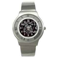 6 Set New Logo Stainless Steel Watch (Unisex)