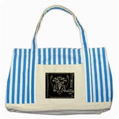 6 Set New Logo Blue Striped Tote Bag
