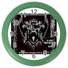 6 Set New Logo Wall Clock (Color)