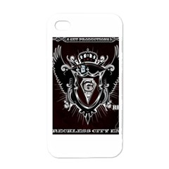 6 Set New Logo Apple iPhone 4 Case (White)
