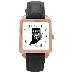 1006135 10151703147645129 882481462 N Rose Gold Leather Watch