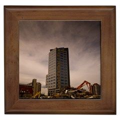 Fos Tower (1 Of 1) Framed Ceramic Tile
