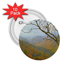 Way Above The Mountains 2.25  Button (10 pack)