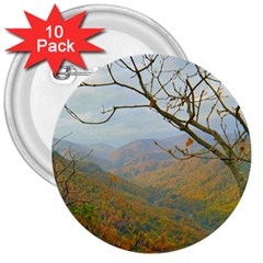 Way Above The Mountains 3  Button (10 pack)