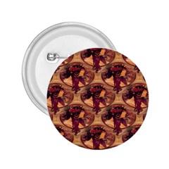 Donna Orechini By Alphonse Mucha 2.25  Button
