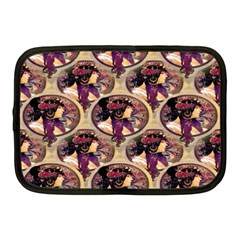 Donna Orechini By Alphonse Mucha Netbook Case (Medium)