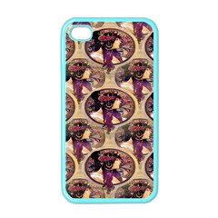 Donna Orechini By Alphonse Mucha Apple iPhone 4 Case (Color)