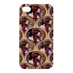 Donna Orechini By Alphonse Mucha Apple iPhone 4/4S Premium Hardshell Case