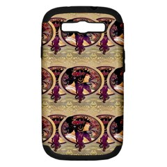 Donna Orechini By Alphonse Mucha Samsung Galaxy S III Hardshell Case (PC+Silicone)