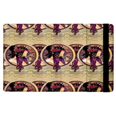 Donna Orechini By Alphonse Mucha Apple iPad 3/4 Flip Case