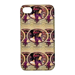 Donna Orechini By Alphonse Mucha Apple iPhone 4/4S Hardshell Case with Stand