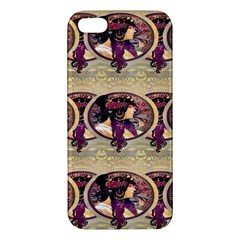 Donna Orechini By Alphonse Mucha iPhone 5 Premium Hardshell Case