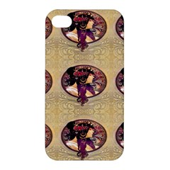 Donna Orechini By Alphonse Mucha Apple iPhone 4/4S Hardshell Case