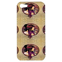 Donna Orechini By Alphonse Mucha Apple iPhone 5 Hardshell Case