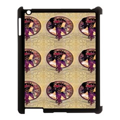 Donna Orechini By Alphonse Mucha Apple iPad 3/4 Case (Black)