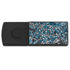 Frontierblues 4GB USB Flash Drive (Rectangle)