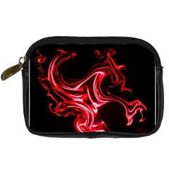 Red Dragon Digital Camera Leather Case