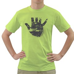 Tshirt Design 560 Mens  T-shirt (Green)